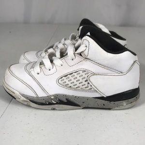 Jordan V 5 Retro cement white 440890-104  sz 10c